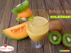 Melone  Kiwi Milkshake