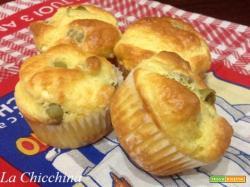 Muffin philadelphia e olive