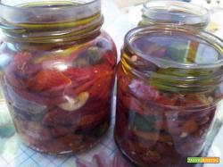 Pomodori secchi piccanti sott'olio