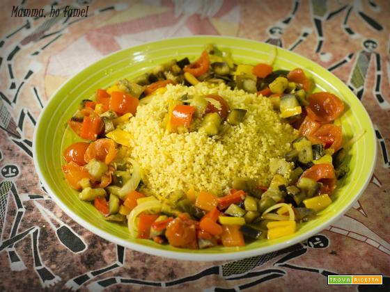 Cous Cous con verdure al profumo di agrumi