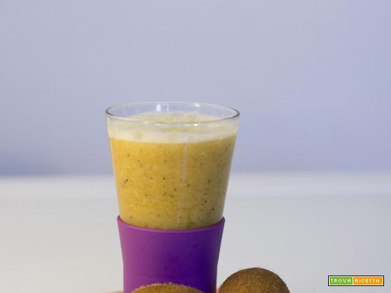 Frullato al kiwi per fare il pieno di vitamine