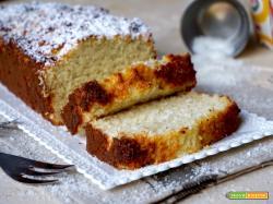 Plumcake al Cocco 4 Ingredienti