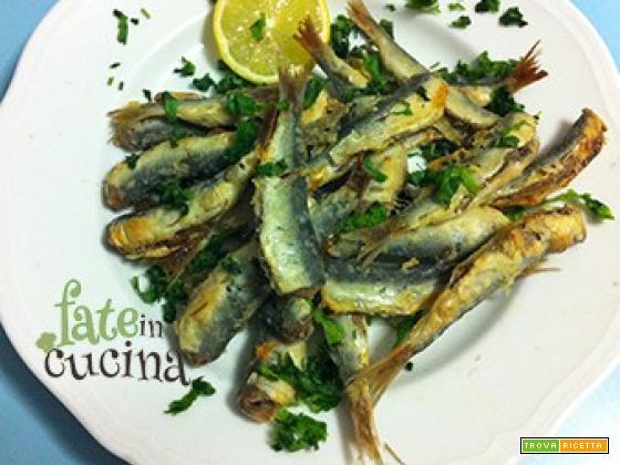 Sardine infarinate al forno