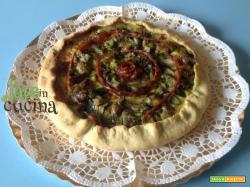 Torta Rustica Carciofi e Patate Senza Formaggio