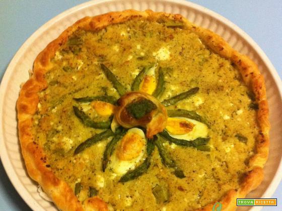 Torta Salata Asparagi e Cous Cous