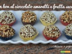 Bon bon al cioccolato amaretti e frutta secca