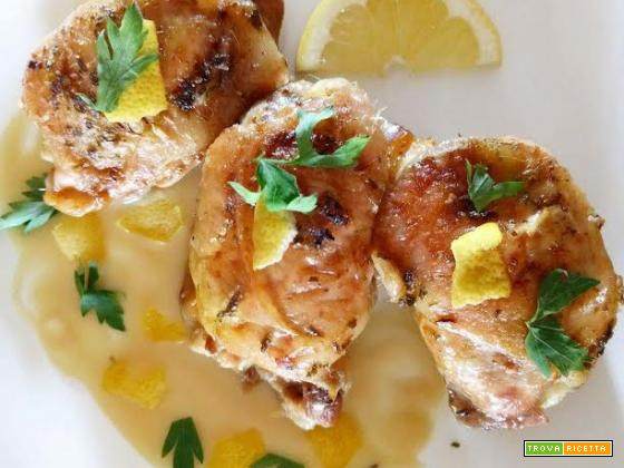 Involtini di pollo  all'amalfitana