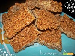 Dolci al riso soffiato e cioccolato -bimby-