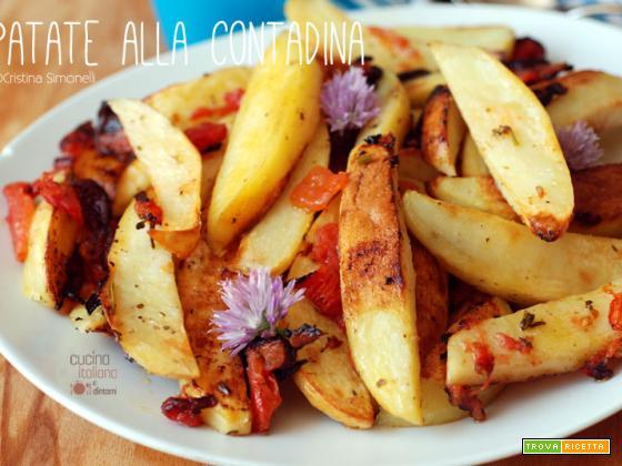 Patate alla contadina con le erbe fresche