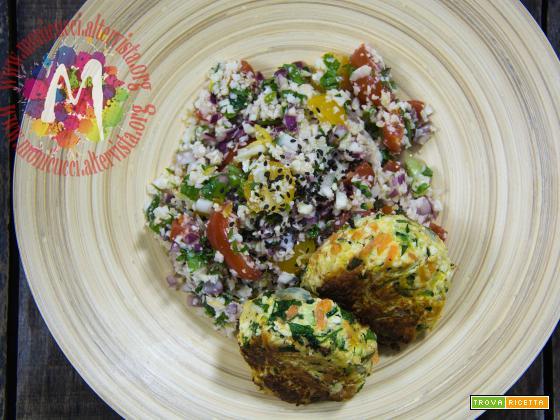 Veg Cous Cous di cavolfiore e verdure di stagione