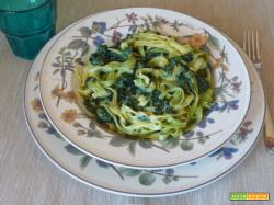 Tagliatelle agli spinaci