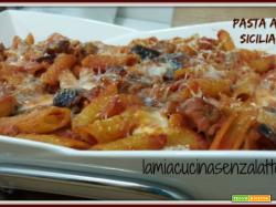 Pasta alla siciliana senza lattosio