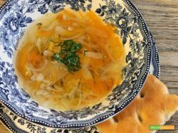 Zuppa cipolle e carote