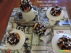 Tortini con cioccolato e zuccherini