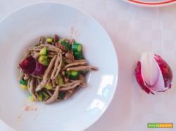 Pasta di grano arso con olive e zucchine facile facile schiscettafriendly studentfriendly