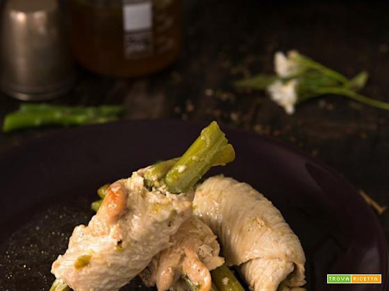 Tacchino asparagi profumi e aromi