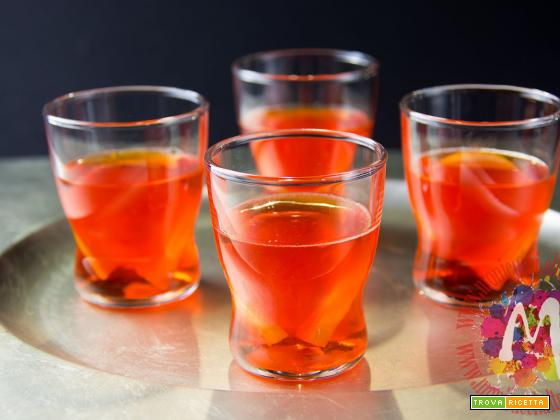 Jelly di Aperol Spritz all'arancia