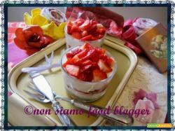 Coppa di fragole e mascarpone