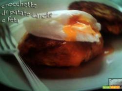 Crocchette di patate, carote e feta