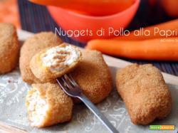Nuggets di pollo alla paprika, ricetta per bambini