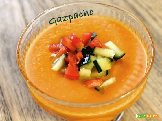 Un gazpacho per colorare la vostra tavola estiva!