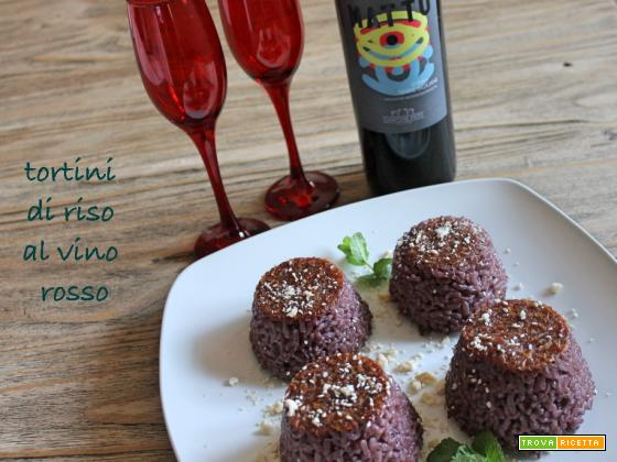 Riso? Red wine rice: tortini di riso al Matto!