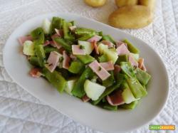 Insalata di taccole e patate novelle