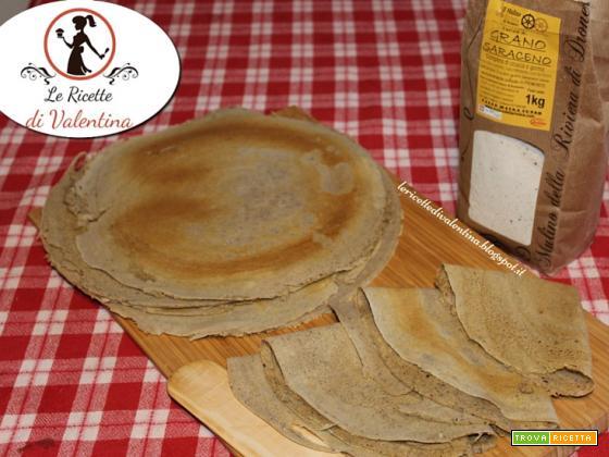 Crepes di grano saraceno, ricetta base