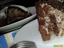 Zuccotto alla ricotta e cioccolato