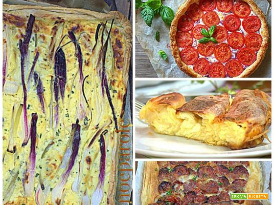 TORTE SALATE : ricette facili e gustose