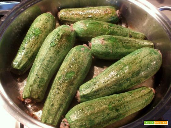 Zucchine Ripiene alla Romagnola