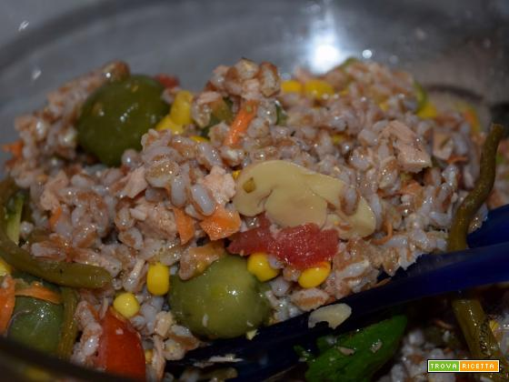 Farro perlato all'insalata