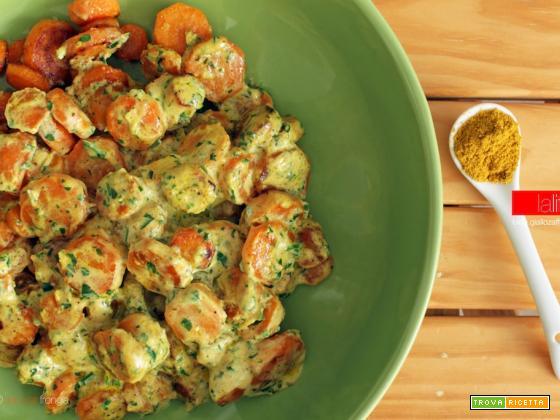 Carote al curry | Ricetta facile e veloce
