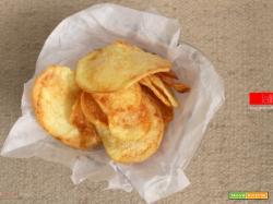 Chips di patate fritte | Ricetta semplice