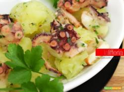 Insalata di polpo e patate | Ricetta semplice