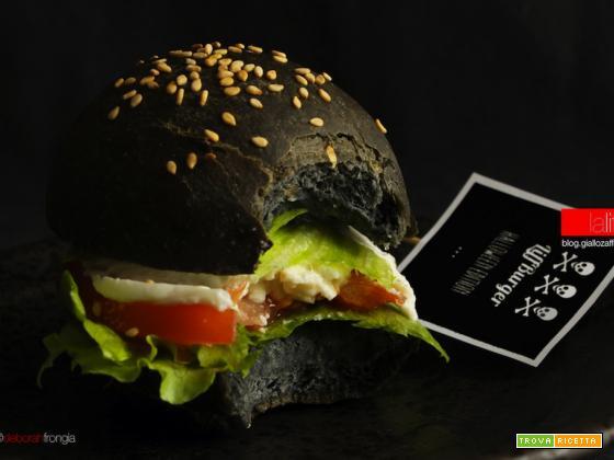 Hamburger nero | LiffBurger Halloween Edition