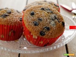 Muffin al cocco con gocce di cioccolato fondente