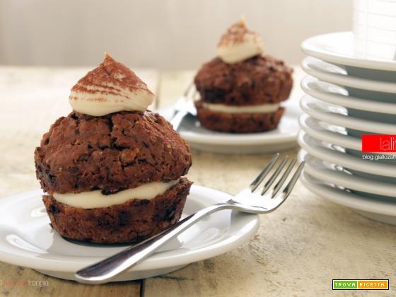 Muffin farciti alla crema di mascarpone