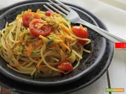 Pasta con zucchine e carote | Ricetta facile