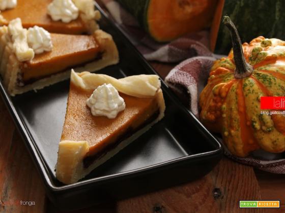 Pumpkin pie (torta di zucca e cioccolato)