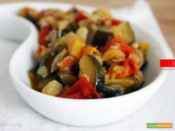 Ratatouille di verdure | Ricetta semplificata