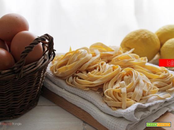 Tagliatelle al limone | Ricetta base