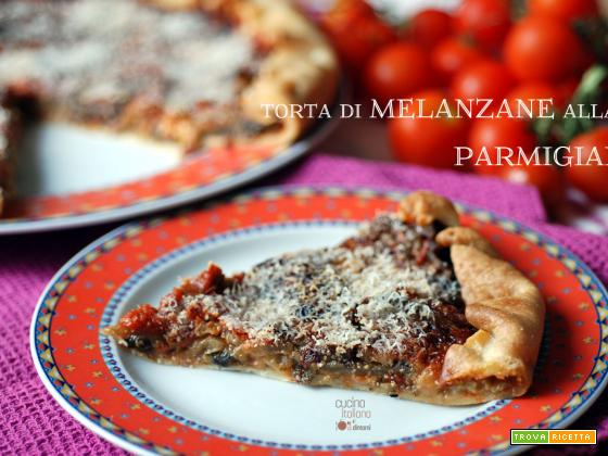 Torta di melanzane grigliate alla parmigiana
