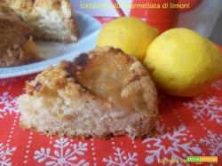 Torta nua alla marmellata di limoni