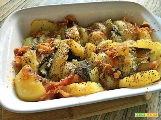 Pasticcio di patate allegro e veloce