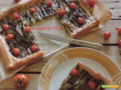 Torta rustica con melanzane