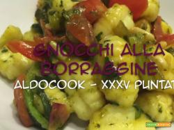 Aldocook - 35 - Gnocchi alla borraggine
