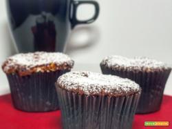 Muffin alla Banana e Cioccolato Bianco