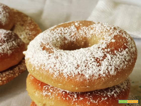 Donuts al forno light
