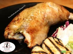 Cosce di pollo al limone nella friggitrice ad aria